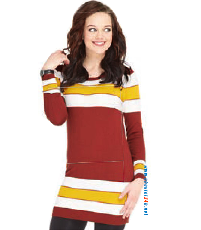 Đầm váy len nữ Sophie Daisy Rouge Red - DDAR1