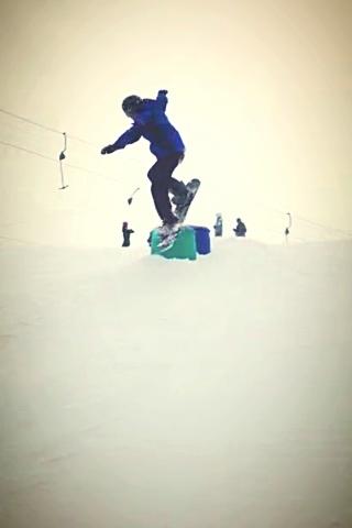 Beginner, Snowboard, Jump, Finland