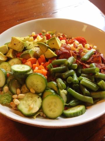 Chef Salad for Lunch | www.kettlercuisine.com