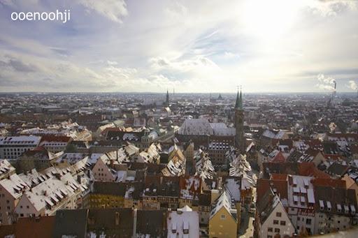 ドイツ・ニュルンベルクの街並み