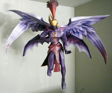 Kefka God of Magic Papercraft