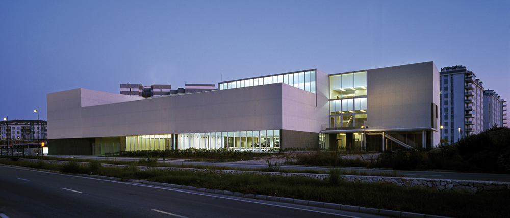 Library and Document Center design by  Peñín Architects