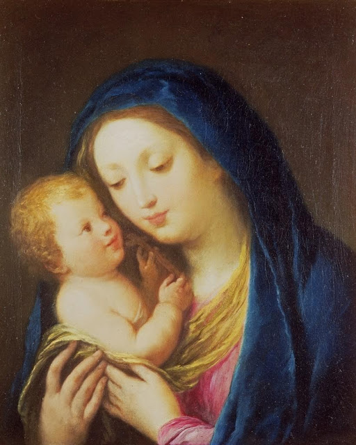 Francesco Zuccarelli - Madonna and Child