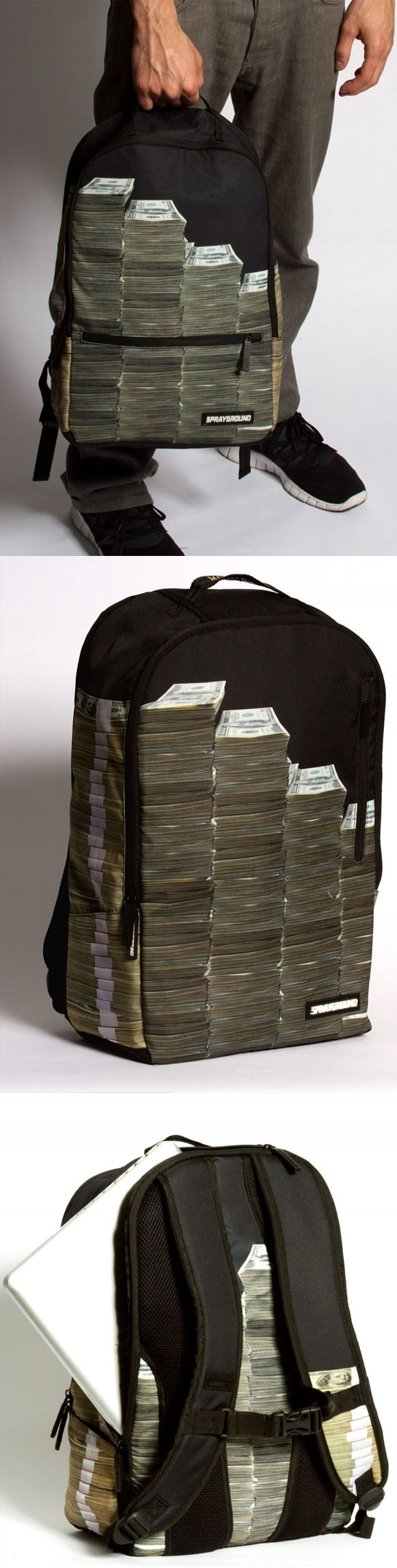 Money Stacks Bag