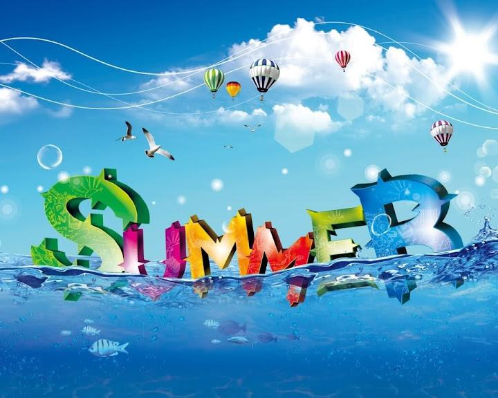 My favorite season summer
