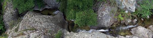 Méandres du ruisseau de Quercetu