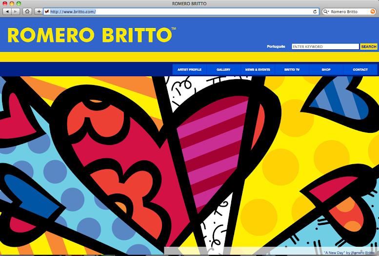 A Glimpse into Pop Artist Romero Britto's Heart-shaped World