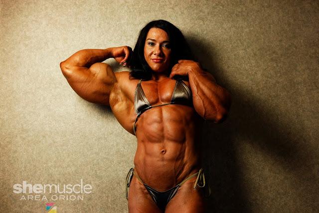 alina popa female bodybuilder morph