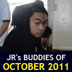 JR's Buddies of October 2011