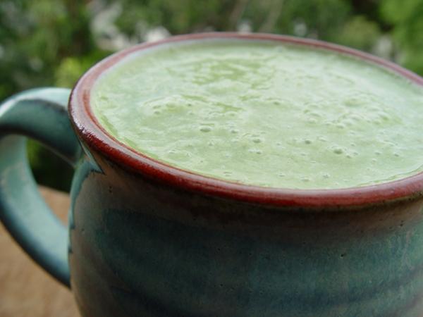 light green smoothie