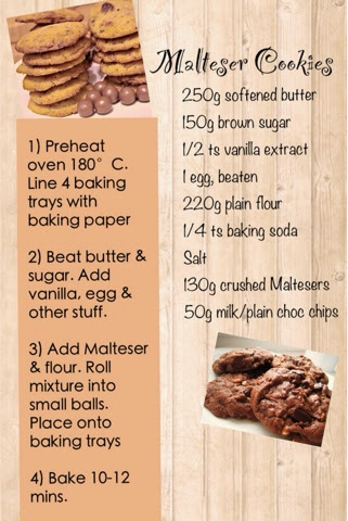 Malteser Cookies Recipe