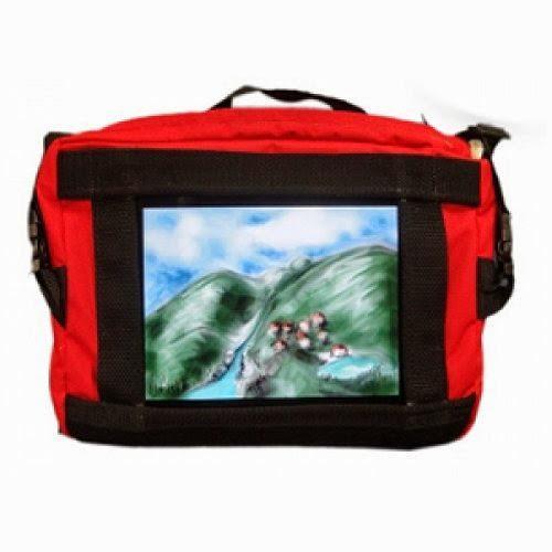 Nimbustote Original Red iPad Bag NimbusTote-101