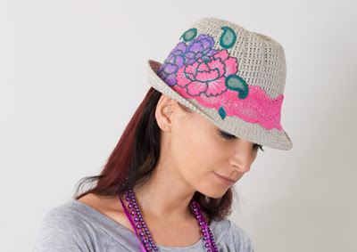 Chapeu decorado