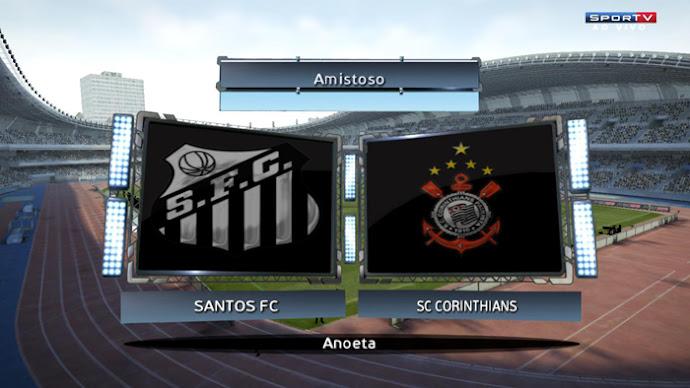Scoreboard SPORTV - PES 2013