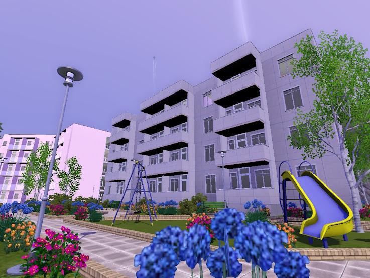 sims 3 flat apartment prl blok