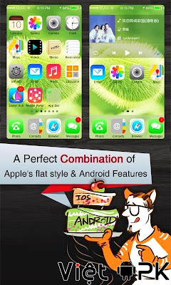 Espier Launcher 7 Pro v1.4.5 - Giao diện iOS đẹp cho Android