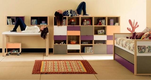 Dormitorio juvenil cama compacta - Dormitorios juveniles hechos a medida ...