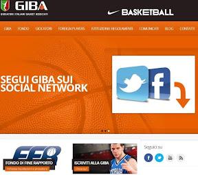 Il nuovo sito della GIBA: www.giba.it