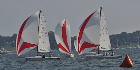 J/70s one-design sailing