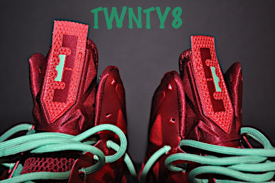 nike lebron 10 gr christmas ruby 3 04 Detailed Look at the Nike LeBron X Christmas / Ruby Edition