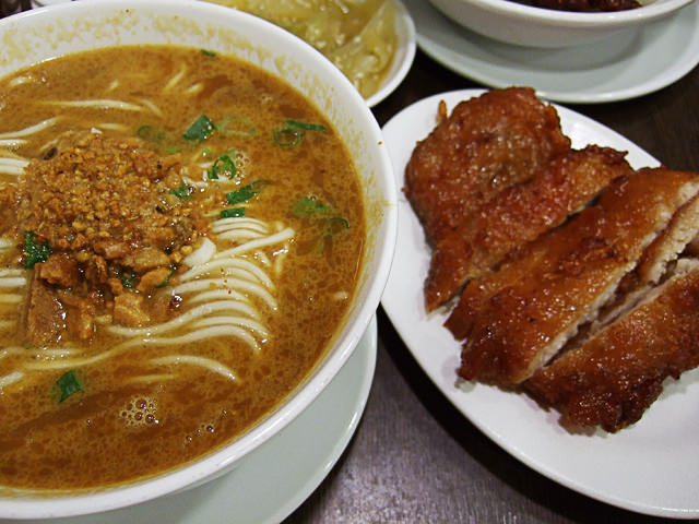 Tan tan noodles with pork ribs