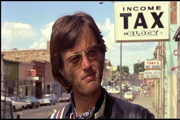 Peter Fonda dans easy rider movie easy rider