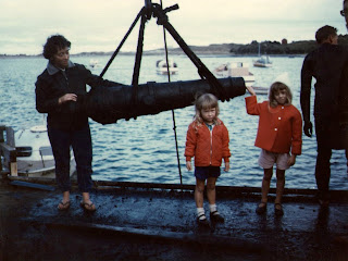 14 April 1968 - Recovery of the Cannon found at Apollo Bay Victoria - Vivienne Ryan , Lesley Ryan  & Jenny Ryan