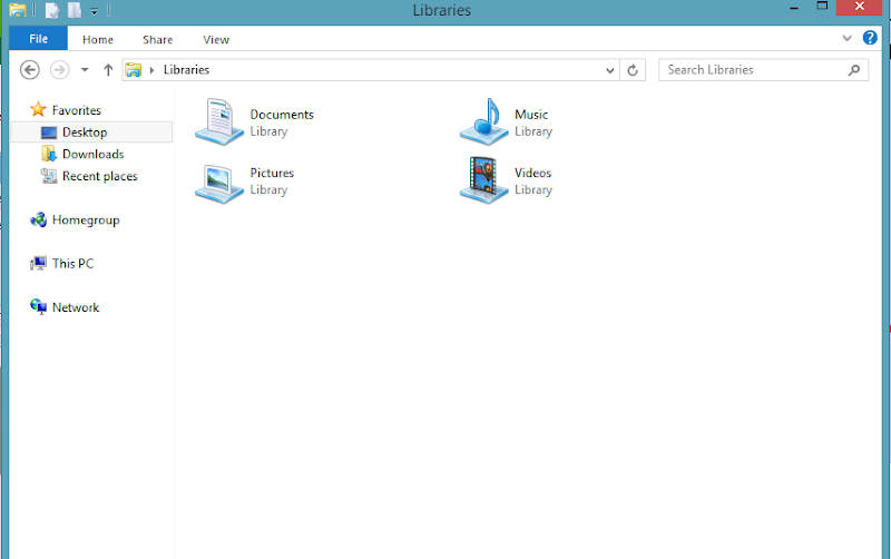 Libraries in Windows 8.1