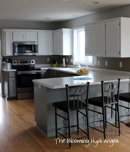 Grey Owl Kitchen: The Kitchen Cabinets Are Painted