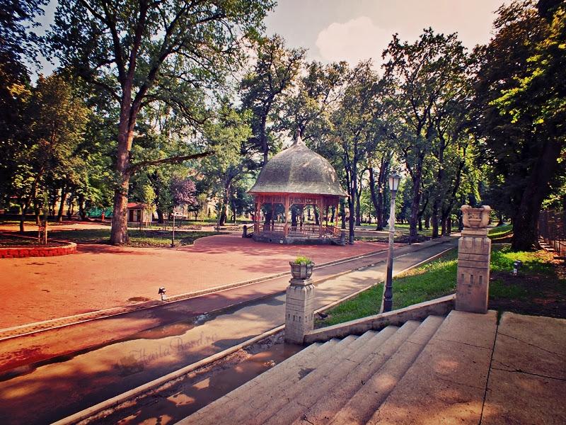parcul municipal bistrita