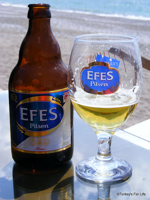Bottle of Efes Pilsen