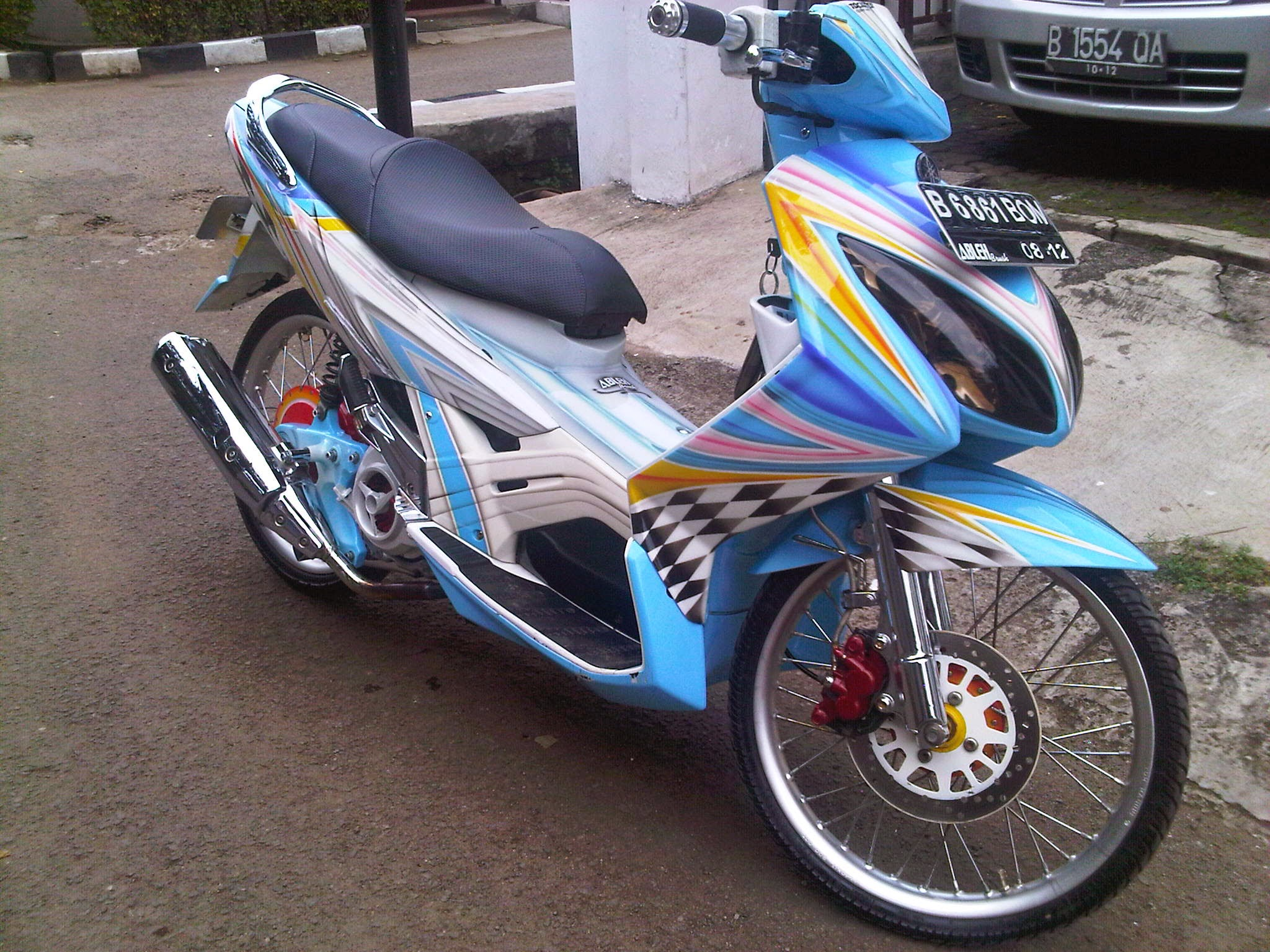 Honda Vario Modifikasi Airbrush
