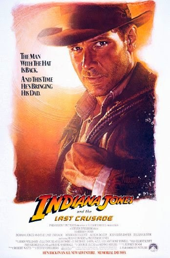 Poster Of Indiana Jones and the Last Crusade (1989) Full Movie Hindi Dubbed Free Download Watch Online At Alldownloads4u.Com