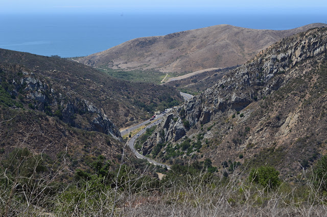 Gaviota Pass and the rest area and more of the state park