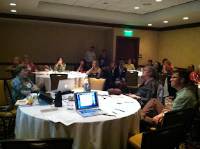 The 2nd annual meeting of the ECSIF at NAEYC 2012.