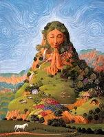 Goddess Papatuanuku Image