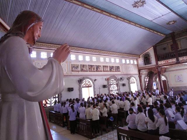 Tĩnh tâm mùa chay của Bà Mẹ Công Giáo và Liên Huynh Đa Minh  Giáo hạt  Ninh Sơn.