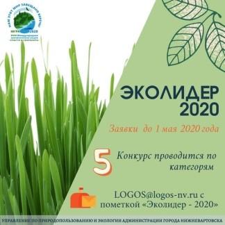 Итоги окружного экологического конкурса «Эколидер - 2020»