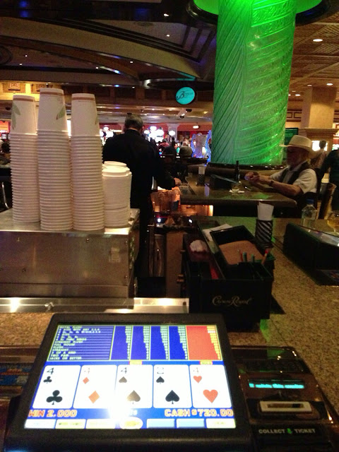 T.I. Bartop Video Poker Quad