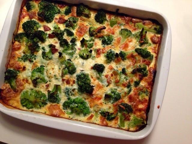 tærte kylling broccoli