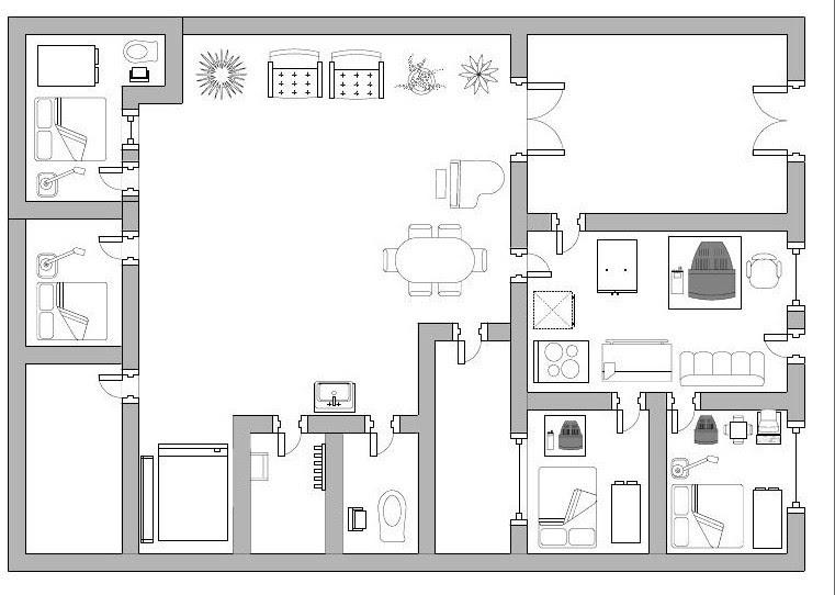 Central red planos en 2d for Software planos arquitectonicos