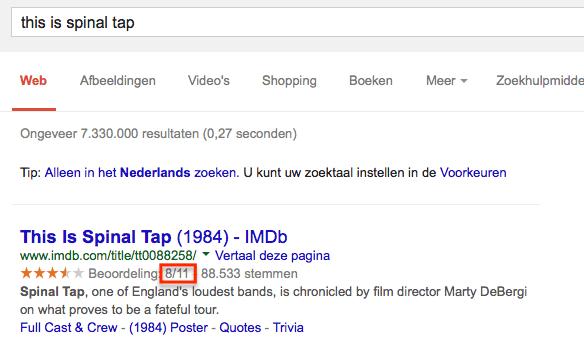 Fout op IMDb