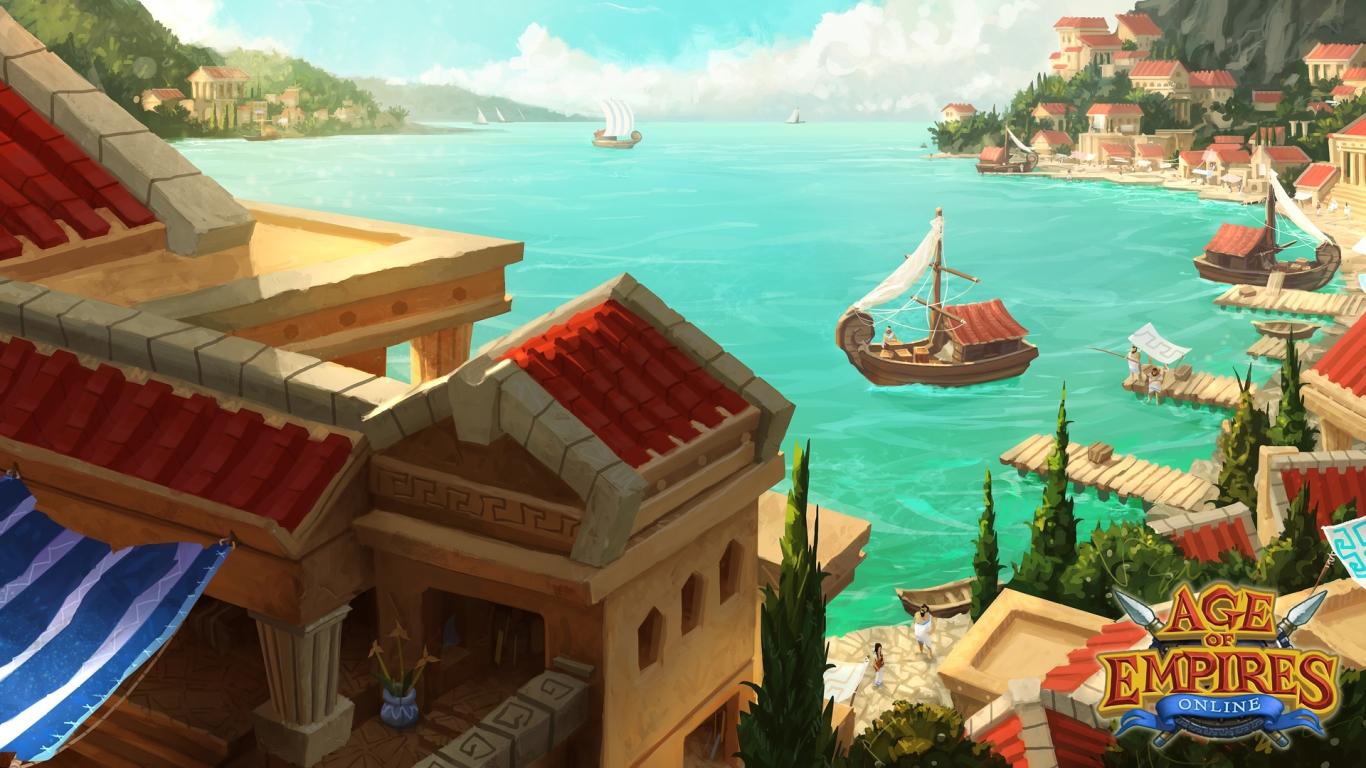 Trọn bộ hình nền của Age of Empires Online - Ảnh 1