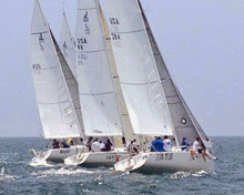 J/105 sailboats at Cal Race Week