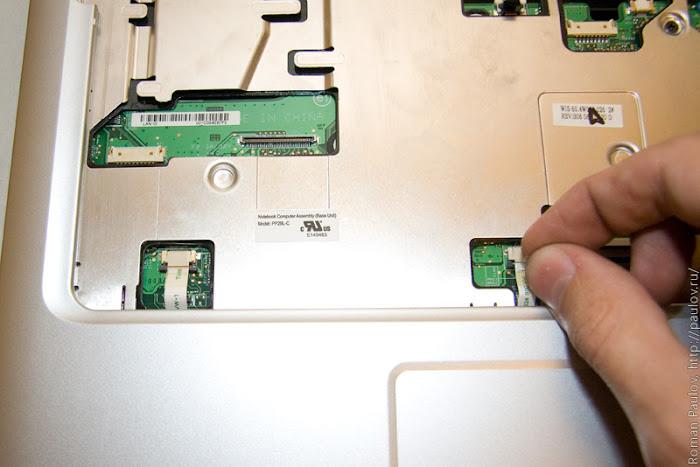 Как разобрать ноутбук Dell Inspiron 1525 25