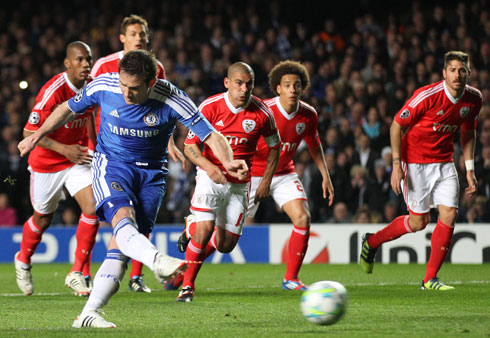 Frank Lampard, Chelsea - Benfica