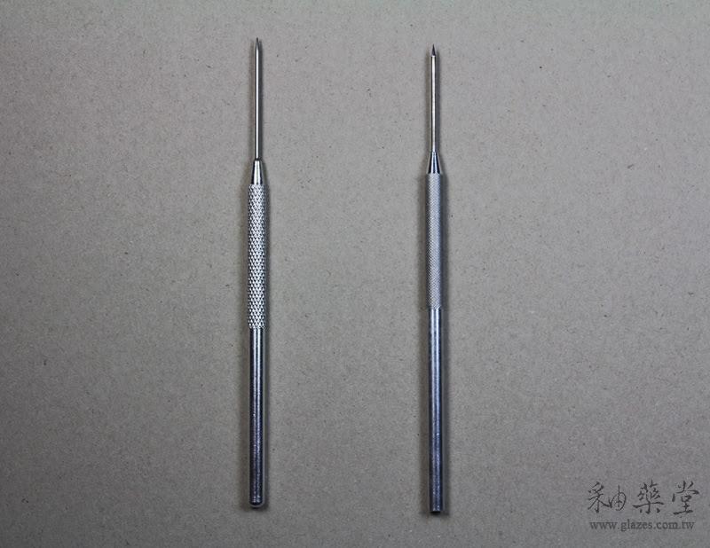 陶藝工具-鋁柄修坯刀中國與臺灣製比較