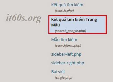 Cách tích hợp công cụ tìm kiếm google vào wordpress không dùng Plugin 8