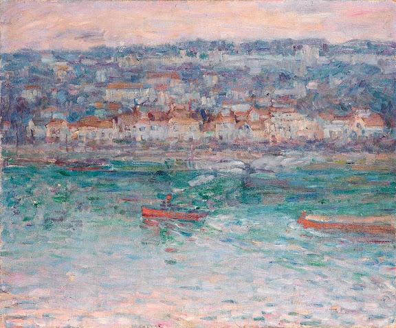 John Peter Russell - Remorqueur sur la Seine, 1887