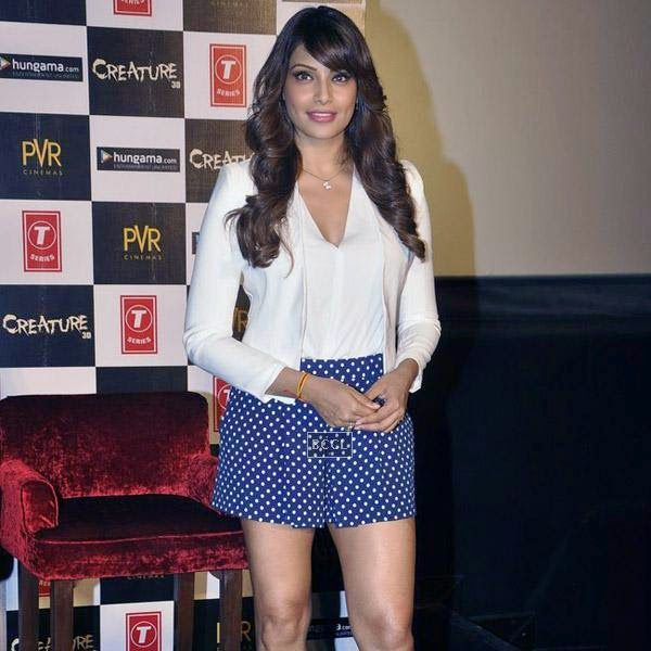 Bipasha Basu during the trailer launch of Bollywood movie Creature 3D, held at PVR, on July 16, 2014.(Pic: Viral Bhayani)
